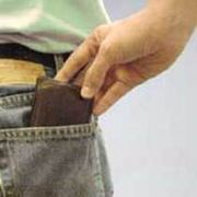 Pickpockets look for easy targets